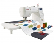 One Janome M200 QDC Sewing Machine