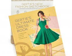 Gertie's Ultimate Dress Book and New Fashion Sketchbook