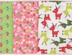 10 Packs of Wintry Fabric